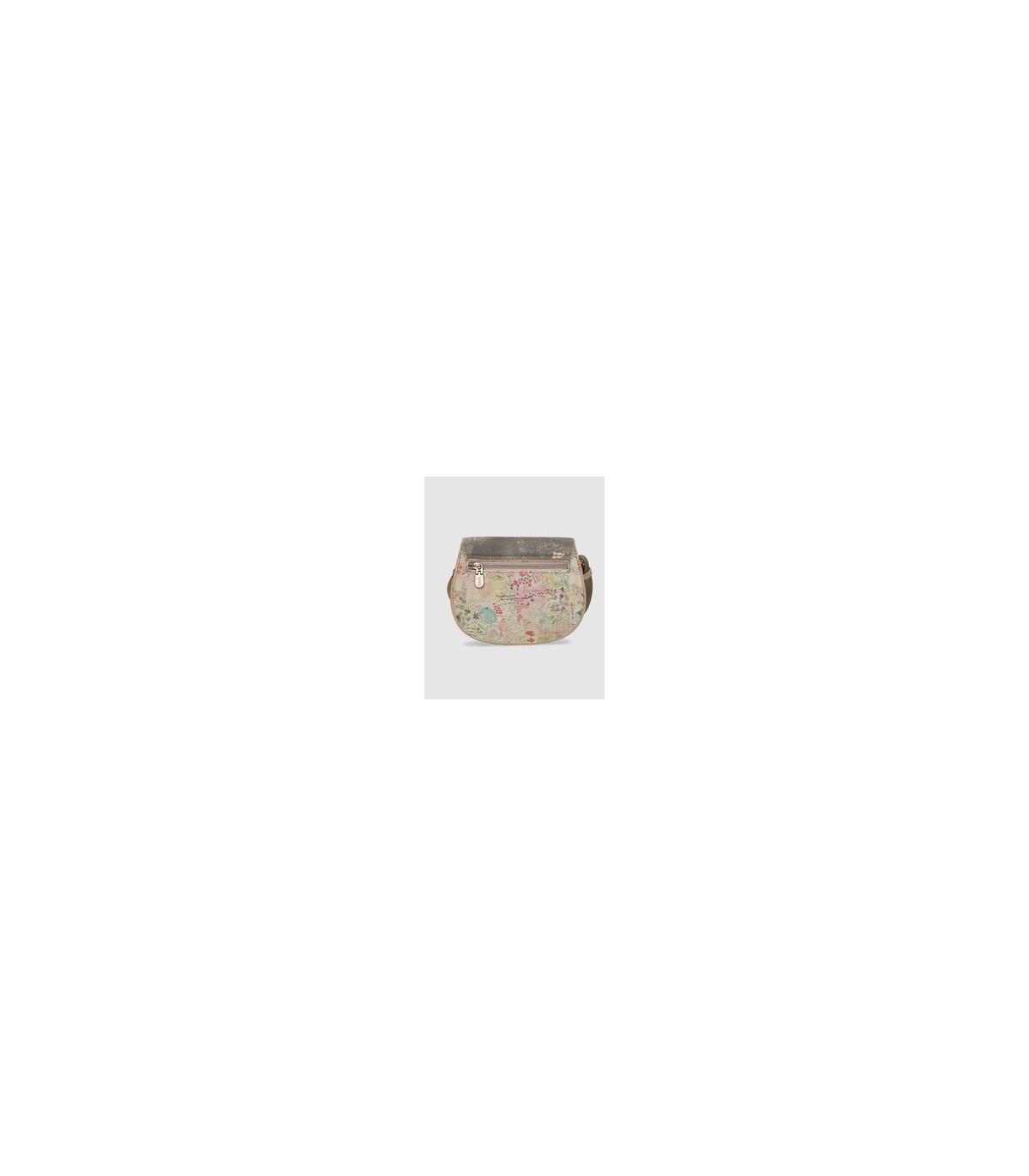 4c1c785df Bandolera pequeña de mujer Anekke multicolor con estampados combinados