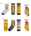 Pack 3 calcetines Rey León