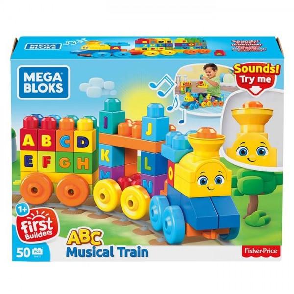 Fisher Price Juguetes Para 1 Ano.Mega Bloks Tren Musical Abc Juguete De Construccion Para Bebe 1 Ano