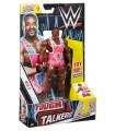 WWE – Figura y accesorio Tough Talkers Big E