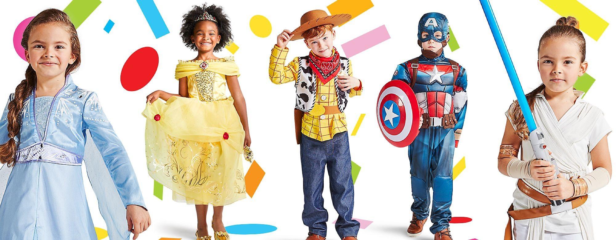 Descubre nuestra fantástica colección de disfraces para adultos, niños y bebés